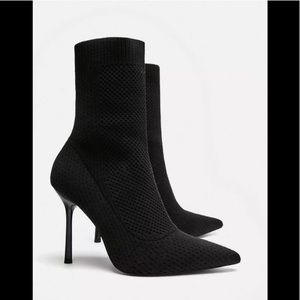 Zara sexy socks style heels.
